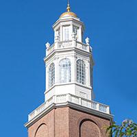 Photo of Washington Place cupola.