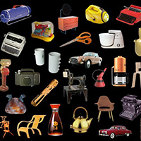 Image of objects collection