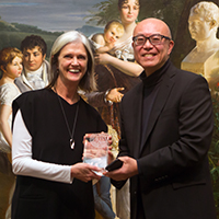 Deborah Burke and Donald Choi at Alumni Association Awards 2019